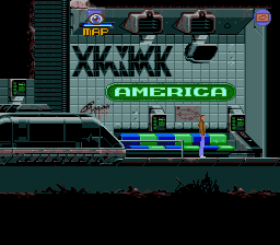 Flashback: The Quest for Identity DOS Level 2: The subway will take you to different parts of the city