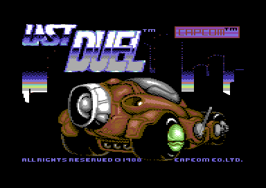 Last Duel: Inter Planet War 2012 Commodore 64 Title