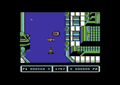 Last Duel: Inter Planet War 2012 Commodore 64 Get this power pod to upgrade weapons