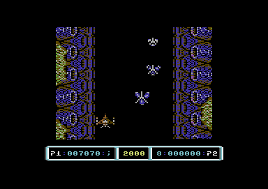 Last Duel: Inter Planet War 2012 Commodore 64 Level 2