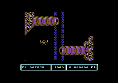 Last Duel: Inter Planet War 2012 Commodore 64 Stay clear of the body parts