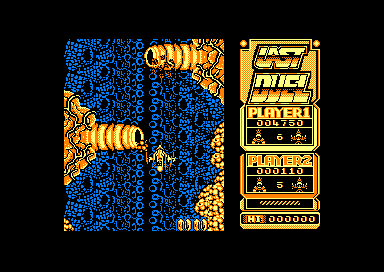 Last Duel: Inter Planet War 2012 Amstrad CPC Stay clear of the body parts