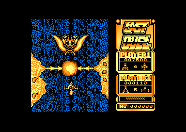 Last Duel: Inter Planet War 2012 Amstrad CPC Boss