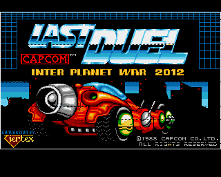 Last Duel: Inter Planet War 2012 Amiga Title