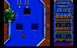 Last Duel: Inter Planet War 2012 Atari ST The start of level one
