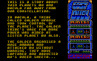 Last Duel: Inter Planet War 2012 Atari ST The story so far