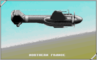 P47 Thunderbolt Atari ST Loading screen