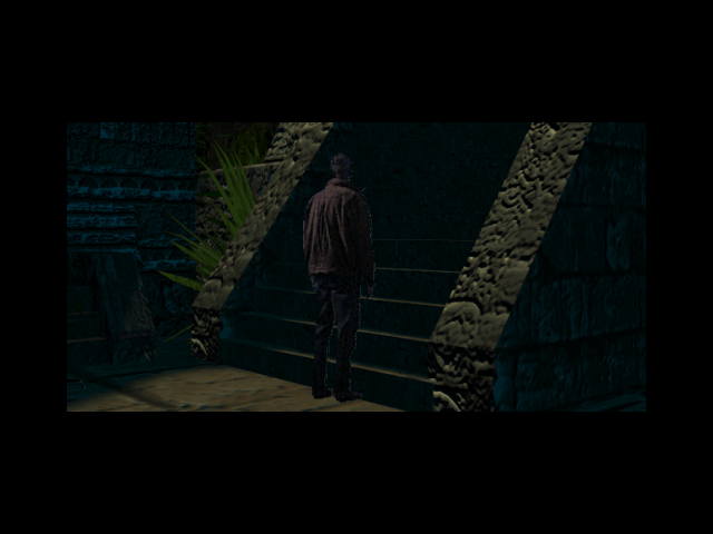 The Pandora Directive DOS Tex arrives at an ancient Myan temple.