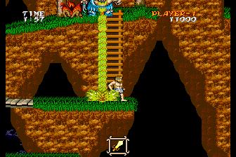 "Ghouls 'N Ghosts SuperGrafx ""Vomited to death by a giant pig"" is not a very befitting death for a knight"