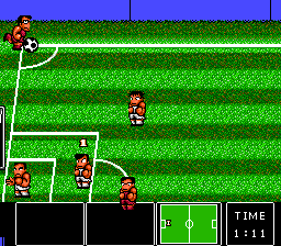 Nintendo World Cup TurboGrafx-16 Corner kick for the other team