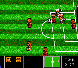 Nintendo World Cup TurboGrafx-16 Not sure what's going on here