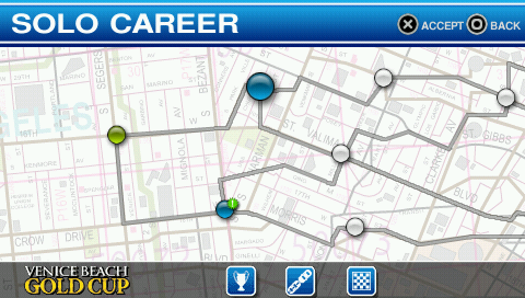 Ford Bold Moves Street Racing Screenshots for PSP - MobyGames
