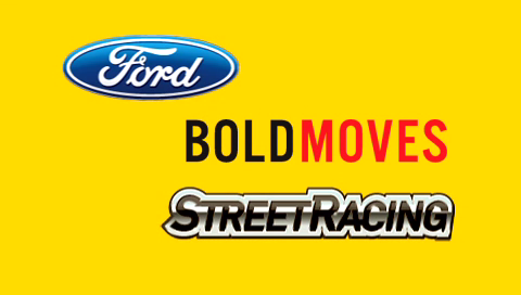 Ford Bold Moves Street Racing PSP Title screen