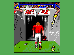 Joe Montana Football SEGA Master System To the disappointment of the fans I lost