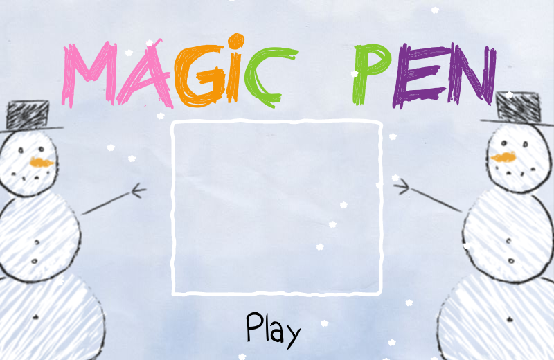 Magic Pen Browser Title screen
