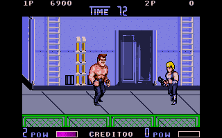 Double Dragon II: The Revenge Atari ST This guy looks tough