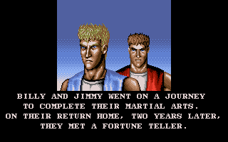 Double Dragon III: The Sacred Stones Atari ST From the intro