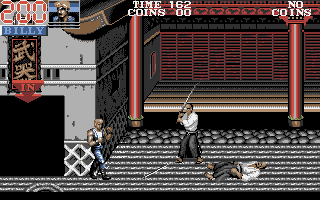 Double Dragon III: The Sacred Stones Atari ST In Japan