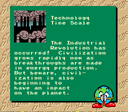 SimEarth: The Living Planet SNES Technology time scale