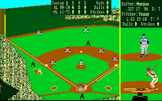 Earl Weaver Baseball Amiga Batting