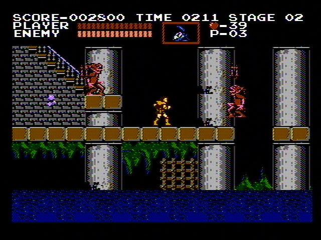 Castlevania NES Somewhere in the basement