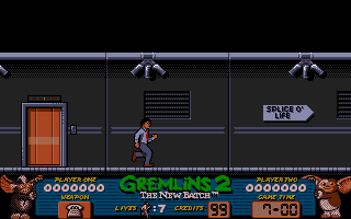 Gremlins 2: The New Batch Amiga Game starts