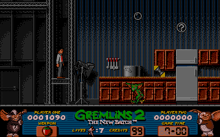 Gremlins 2: The New Batch Amiga On a lift