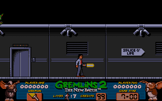 Gremlins 2: The New Batch Amiga Using laser weapon