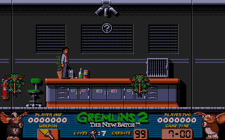 Gremlins 2: The New Batch Amiga On a desk