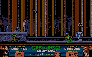 Gremlins 2: The New Batch Amiga Electric gremlin ahead
