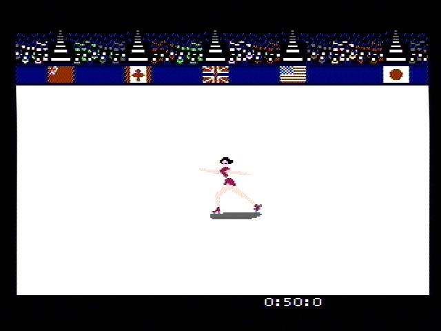 Winter Games NES Figure skating