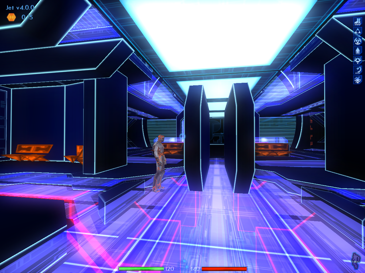 TRON 2.0 Windows The game is more than five years old and still looks amazing even today.