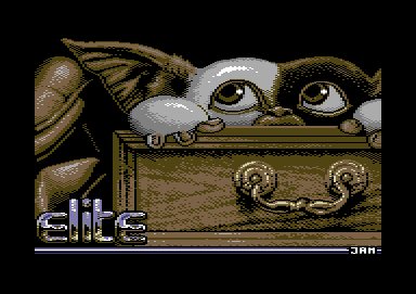 Gremlins 2: The New Batch Commodore 64 Loading screen