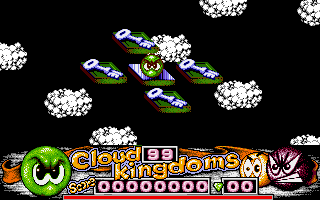 Cloud Kingdoms Amiga Level selection