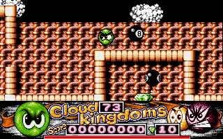 Cloud Kingdoms Amiga Watch out for snooker ball