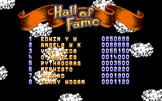 Cloud Kingdoms Amiga High Scores