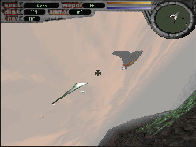 Terminal Velocity DOS In the beginning the ship only has feeble lasers.