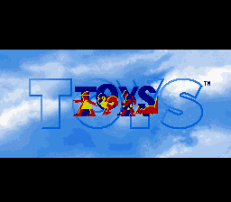 Toys SNES Title screen