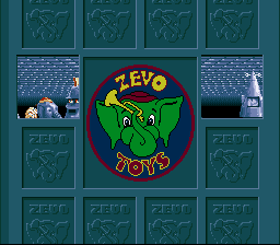Toys SNES The level opening