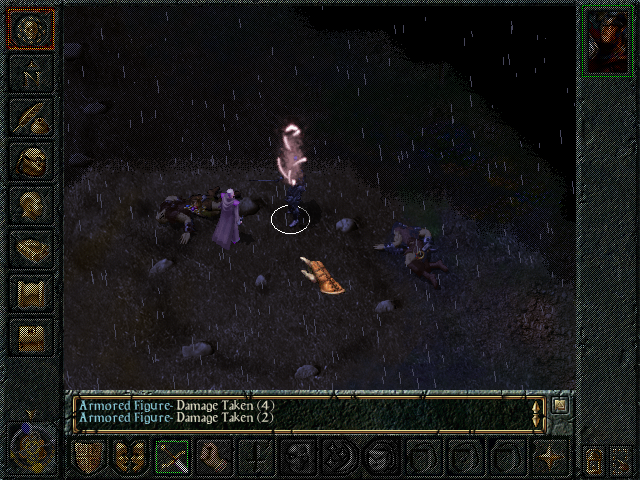 Baldur's Gate Windows This momentous act of sacrifice changes the course of our hero's life