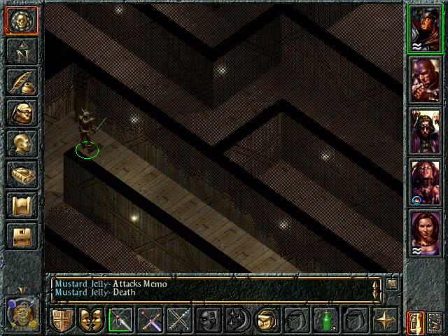 Baldur's Gate Windows Trying to get through the Thieves Maze