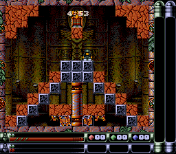 Troddlers SNES Pyramid level