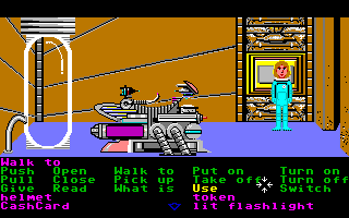 Zak McKracken and the Alien Mindbenders Amiga An ancient machine on Mars.