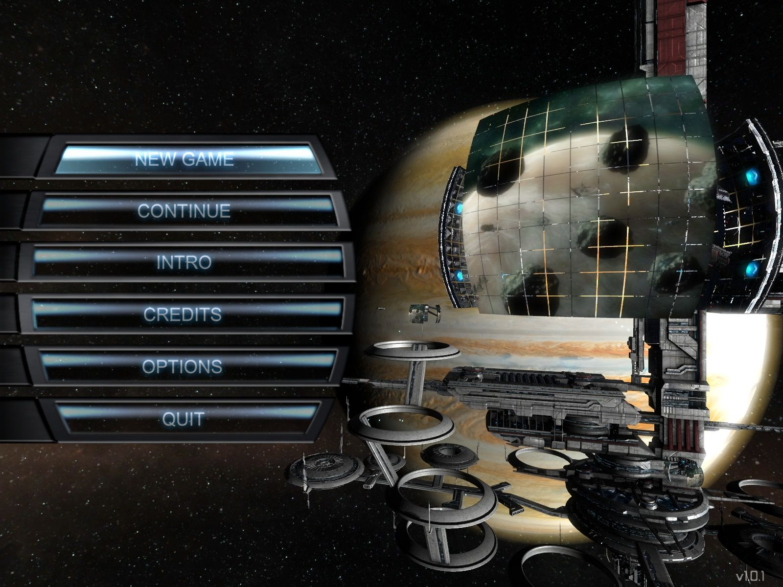 X³: Terran Conflict Windows Main Menu