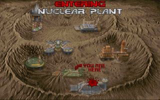 DOOM DOS Entering Nuclear Plant