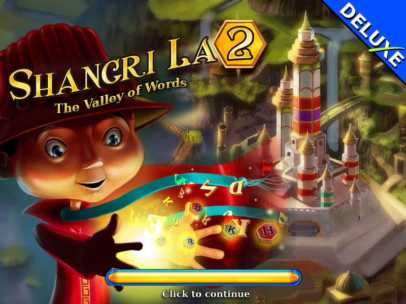 Shangri La 2 Deluxe: The Valley of Words Windows Loading screen