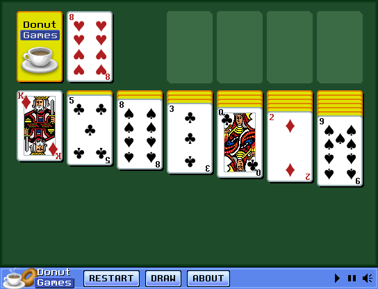 Klondike Solitaire Browser A brand new game round