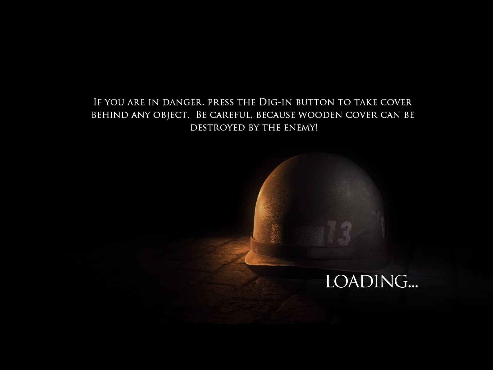 Brothers in Arms: Hell's Highway Windows The loading screens offer tips.