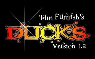 Ducks DOS Title screen
