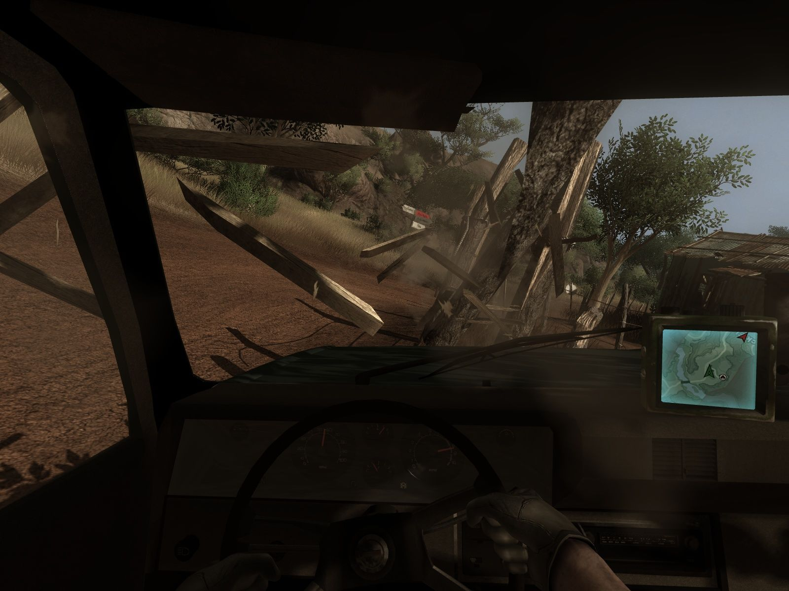 Far Cry 2 Windows Some reckless driving - fun times!